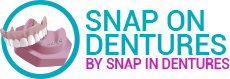 Logo Snap On Dentures Cancun Mexico